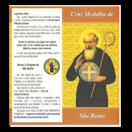 Folheto da Cruz-Medalha de São Bento