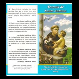 Folheto de Como Rezar a Trezena de Santo Antônio