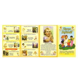 Folheto de Como Rezar o Terço Infantil