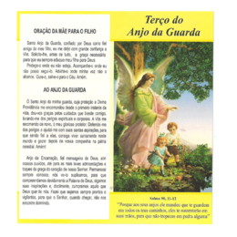 Folheto de Como Rezar o Terço do Anjo da Guarda