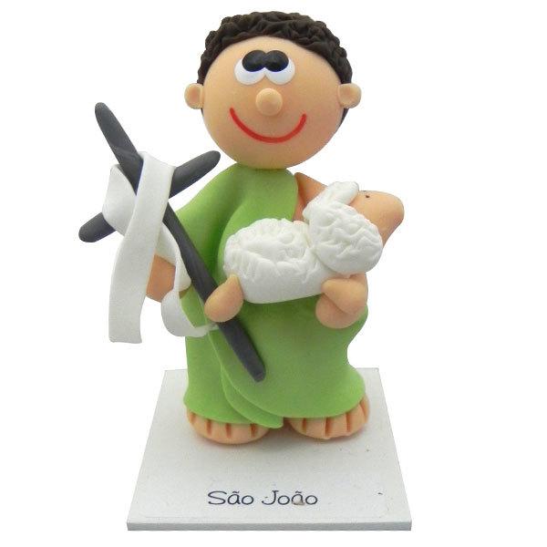 Imagem de São João em Biscuit