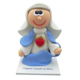 Imagem de Sagrado Coração de Maria em Biscuit