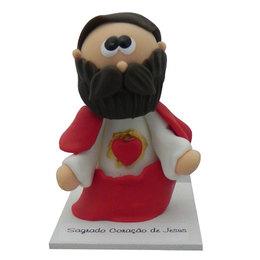 Sagrado Coração de Jesus - Biscuit