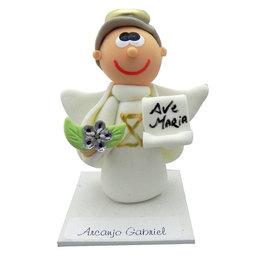 Imagem de São Gabriel Arcanjo em Biscuit