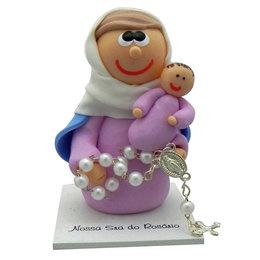 Nossa Senhora do Rosário - Biscuit