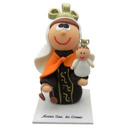 Nossa Senhora do Carmo - Biscuit - 9,1cm