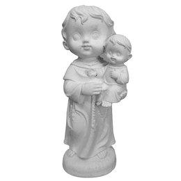 Santo Antônio Criança - Gesso Branco