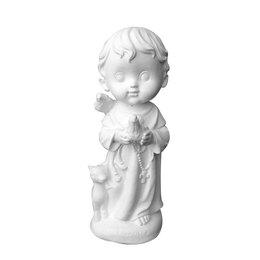 São Francisco Criança - Gesso Branco