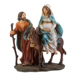 Nossa Senhora Grávida - Resina - 16cm (Fuga para o Egito)