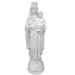 Nossa Senhora do Carmo - Gesso Branco - 30cm