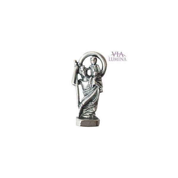 São Cristóvão - Metal - 2,5cm