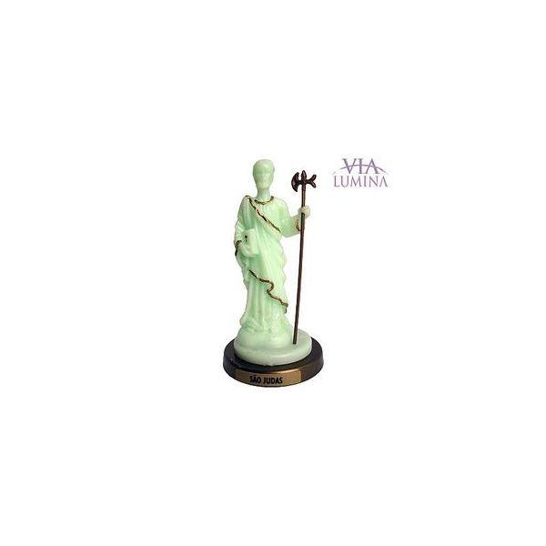 São Judas - Fosforescente - Plástico - 11,7cm