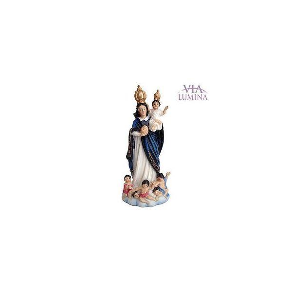 Imagem de Nossa Senhora das Cabeças em Resina de 10cm