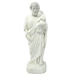 São José - Gesso Branco - 20cm