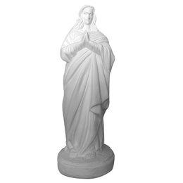 Santa Sara - Gesso Branco - 38cm