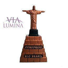 Cristo Redentor - Plástico - 8,5cm