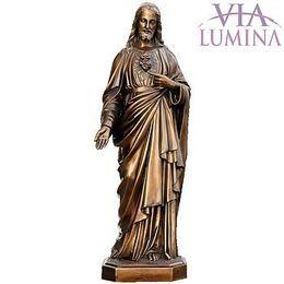 Sagrado Coração de Jesus - Bronze - 85cm