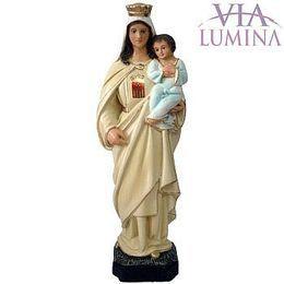 Imagem de Nossa Senhora das Mercês em Gesso de 20cm