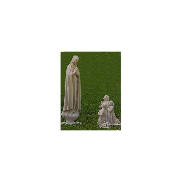 Nossa Senhora de Fátima com Pastores - Resina - 110cm