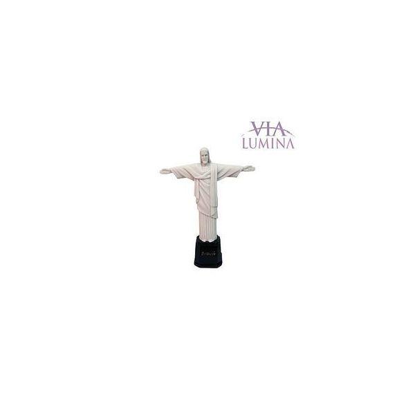 Imagem do Cristo Redentor em Resina de 17cm - Estilo Mármore