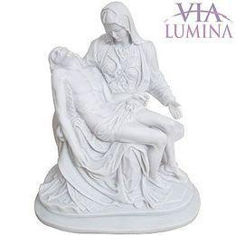 Nossa Senhora da Piedade - Resina e Pó de Mármore - 43cm