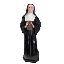 Santa Margarida Maria Alacoque - Resina - 85cm