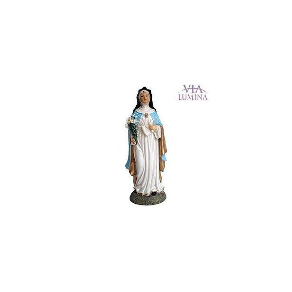 Imagem de Santa Beatriz em Resina de 14cm