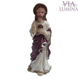 Imagem do Sagrado Coração de Jesus em Resina de 5cm