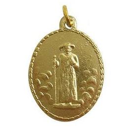 Medalha do Padre Cícero - Dourada