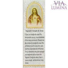 Marca Página do Sagrado Coração de Jesus