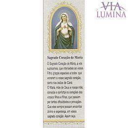 Marca Página do Sagrado Coração de Maria