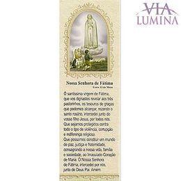 Marca Página da Nossa Senhora de Fátima