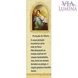 Marca Página da Proteção de Maria