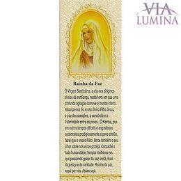 Marca Página da Rainha da Paz