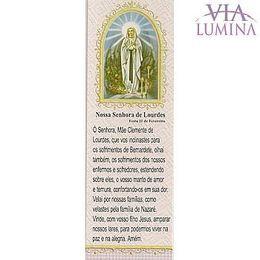 Marca Página de Nossa Senhora de Lourdes