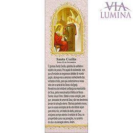 Marca Página de Santa Cecília