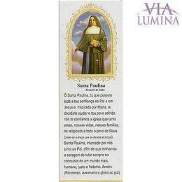 Marca Página de Santa Paulina