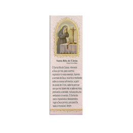 Marca Página de Santa Rita de Cássia