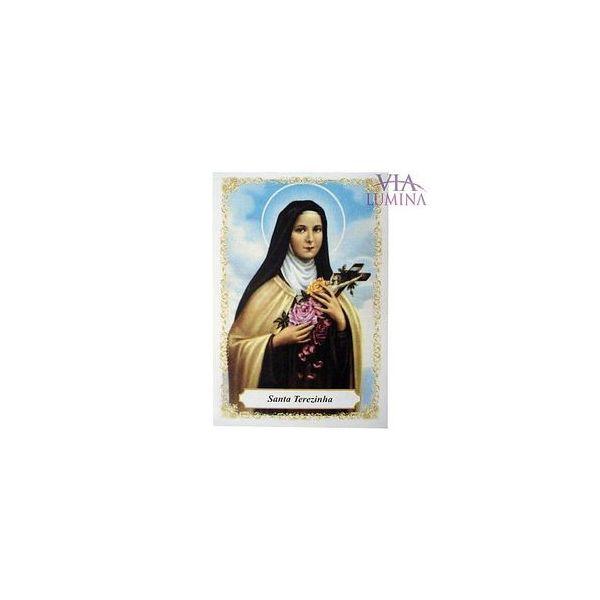 Santa Terezinha - Pacote c/ 100 Santinhos de Papel