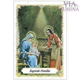 Sagrada Família - Pacote c/ 100 Santinhos de Papel