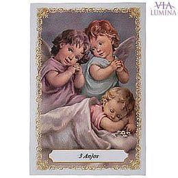 Anjo da Guarda Crianças - Pacote c/ 100 Santinhos de Papel