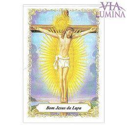 Bom Jesus da Lapa - Pacote c/ 100 Santinhos de Papel