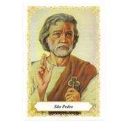 São Pedro - Pacote c/ 100 Santinhos de Papel