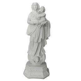 Nossa Senhora de Nazaré - Gesso Branco - 37cm