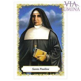 Santa Paulina - Pacote c/ 100 Santinhos de Papel