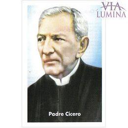 Padre Cícero - Pacote c/ 100 Santinhos de Papel