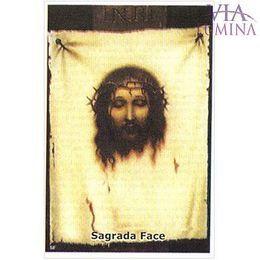 Sagrada Face - Pacote c/ 100 Santinhos de Papel