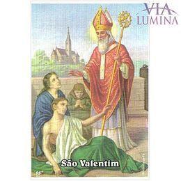 São Valentim - Pacote c/ 100 Santinhos de Papel