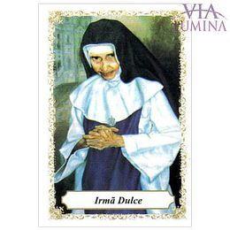 Irmã Dulce - Pacote c/ 100 Santinhos de Papel