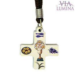 Cruz Primeira Eucaristia Branca